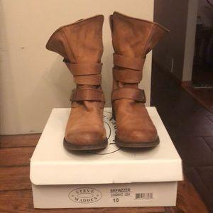 Steve Madden Brewzzer Boots size 10